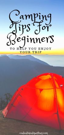 Camping tips for beginners pin 2