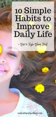 10 Simple Habits to Improve Daily Life Pin 1