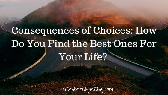 consequences of choices blog banner