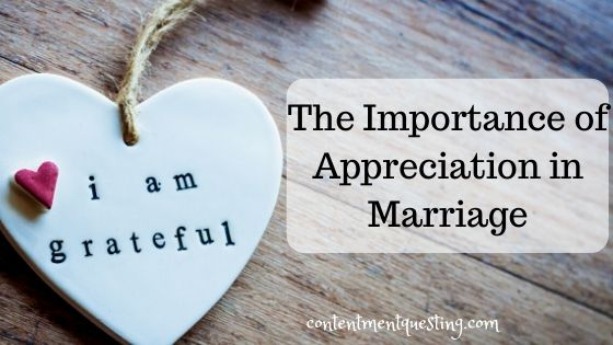 Importance of appreciation in marriage blog banner