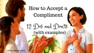 How to Accept a Compliment title image tweet