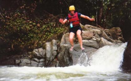 Costa Rica Pacuare River Jump