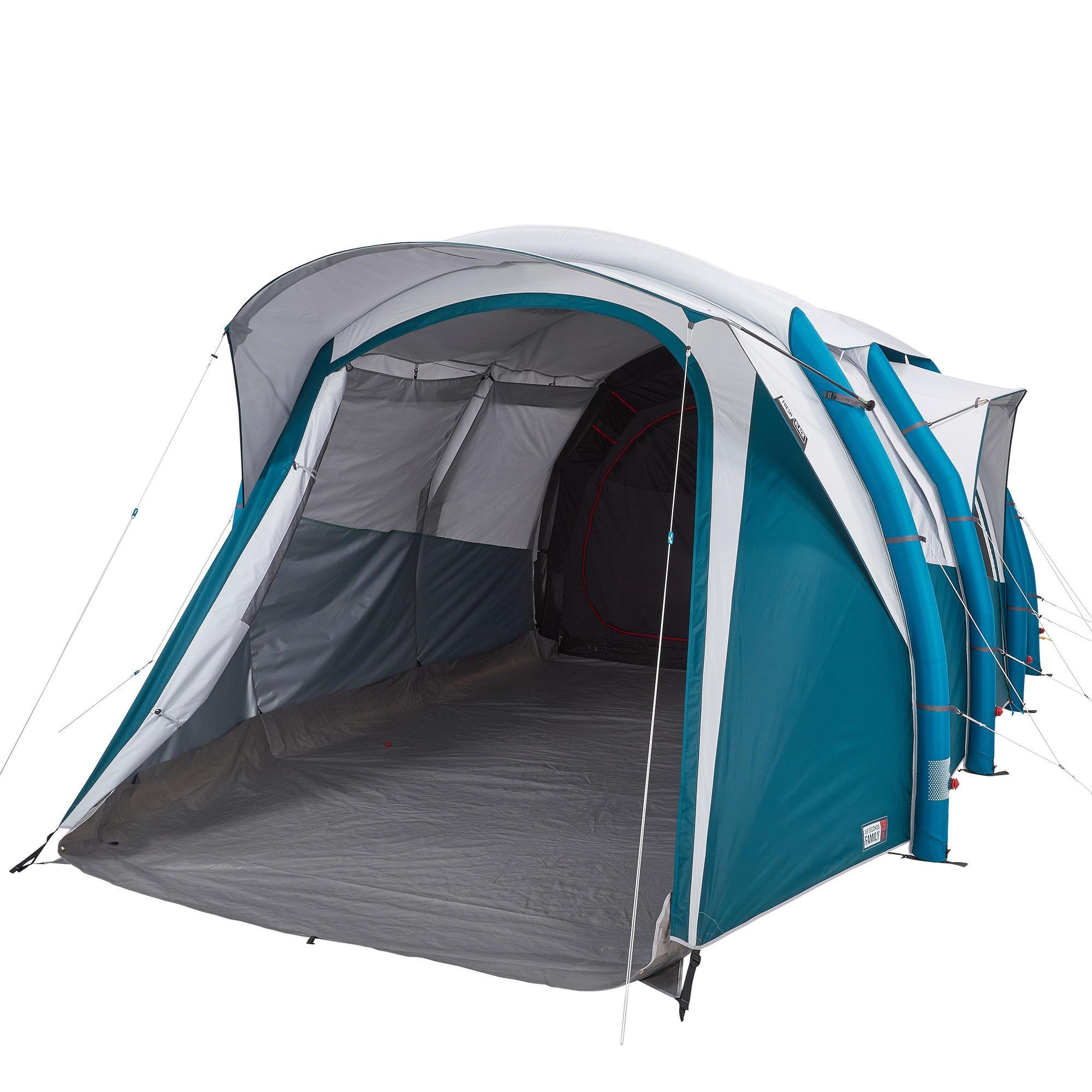 tente gonflable de camping air seconds 6 3 f b 6 personnes 3 chambres