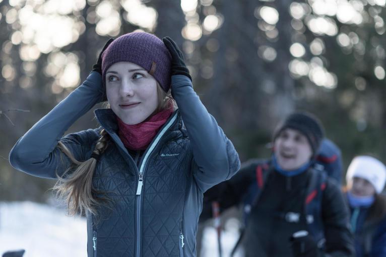 【這個冬天有點冷】 保暖 攻略登山時中層注重保暖 , 洋蔥穿法