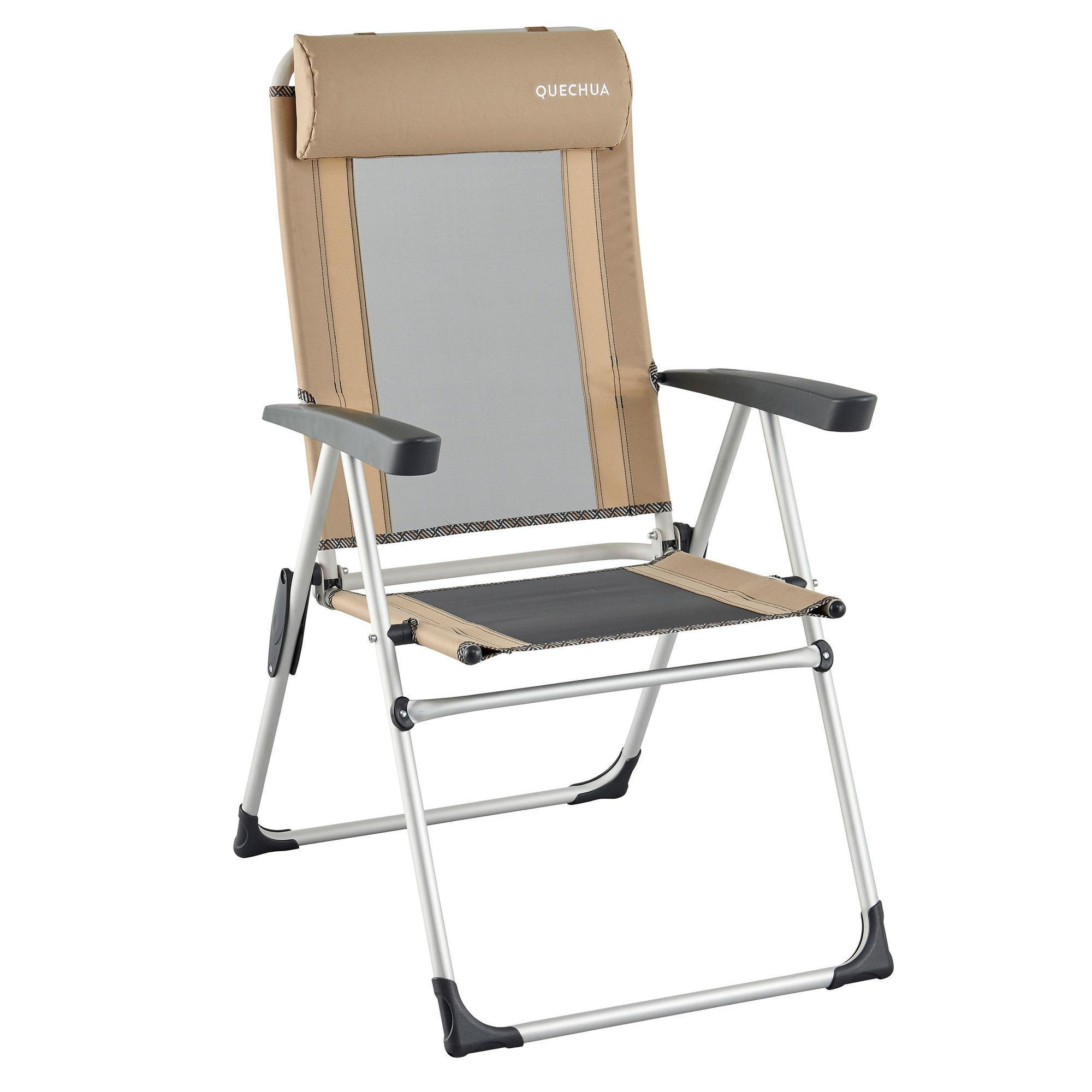 fauteuil confort inclinable pour le camping