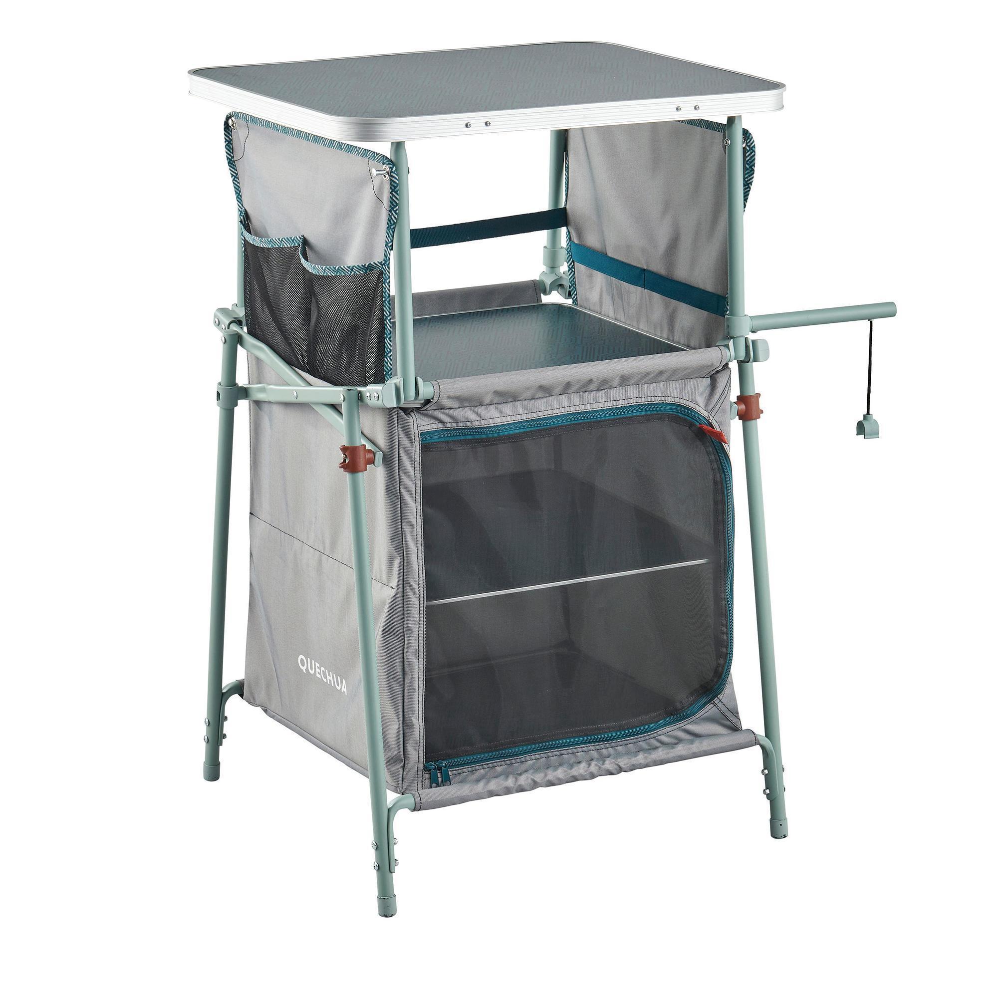 tables pliantes et meubles camping