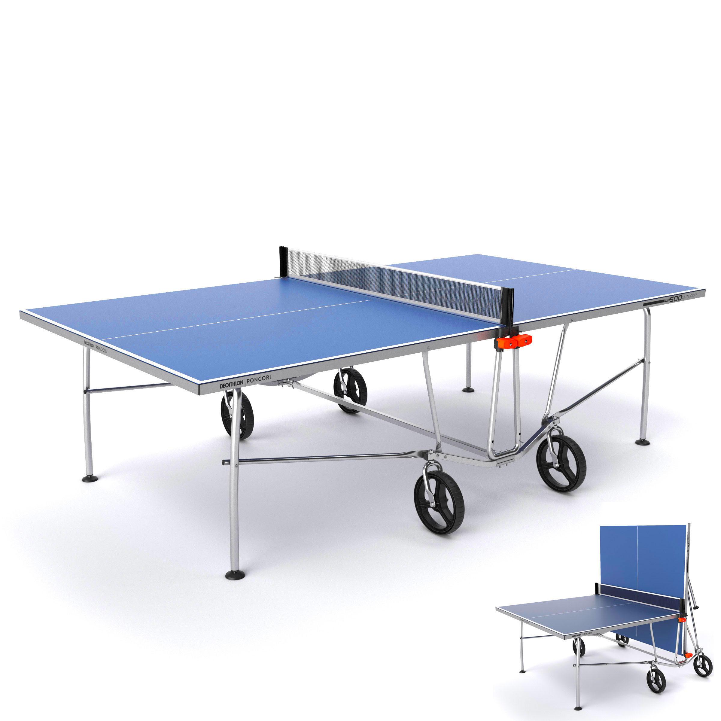 table de ping pong exterieure ppt 500 bleue