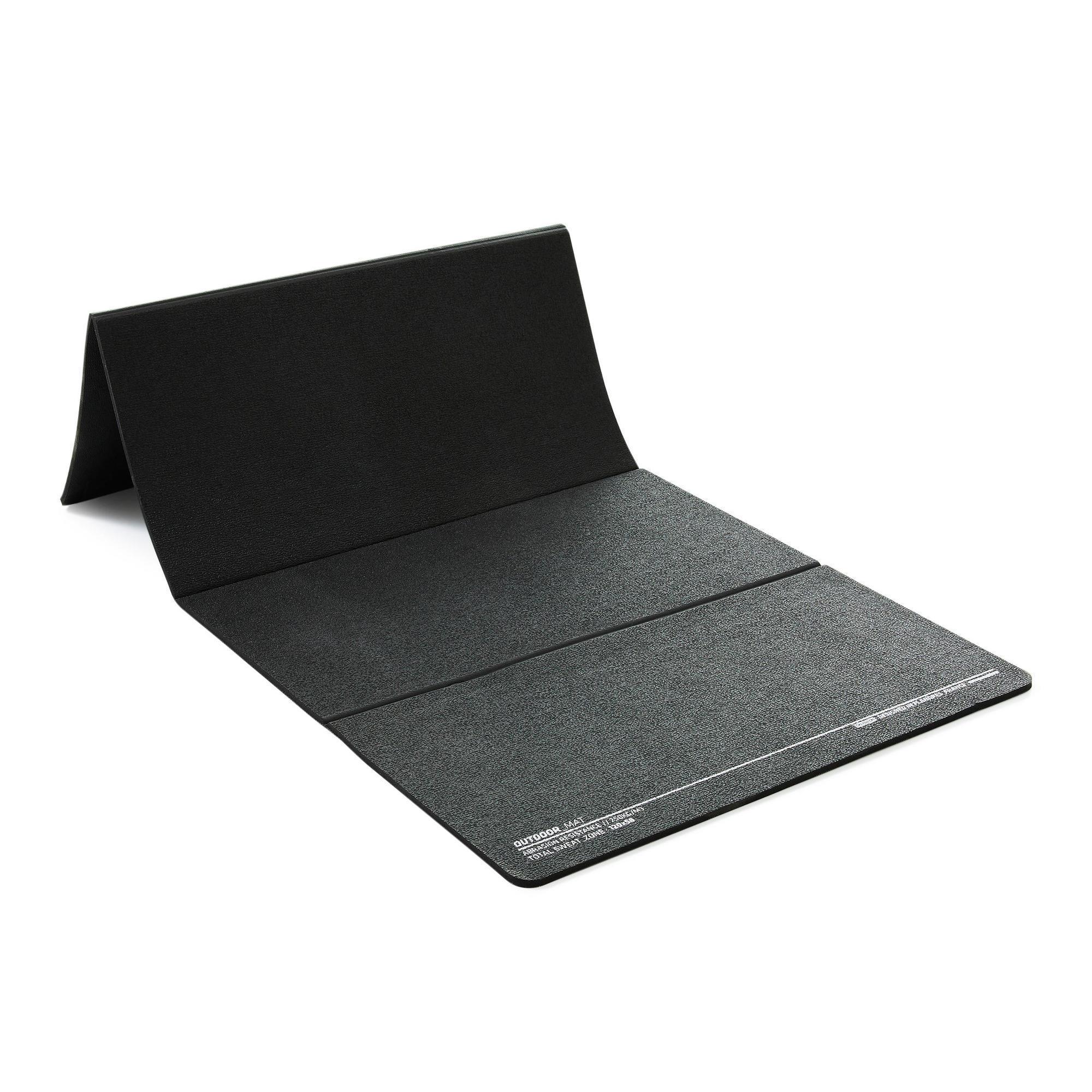 tapis de fitness pliable usage interieur et exterieur