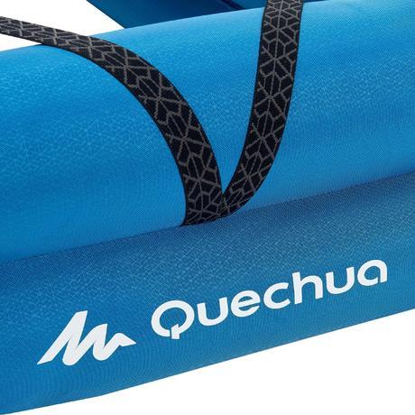 Sommier Gonflable Lit De Camp CAMP BED AIR 70 Bleu Quechua