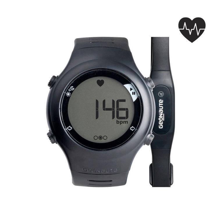 ONRHYTHM 110 running heart rate monitor black
