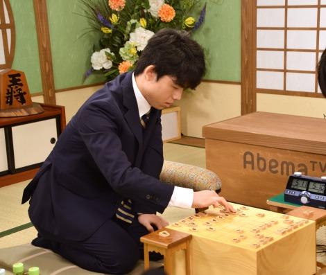 AbemaTVの将棋オリジナル番組の対局企画に出場する藤井聡太七段 (C)ORICON NewS inc.