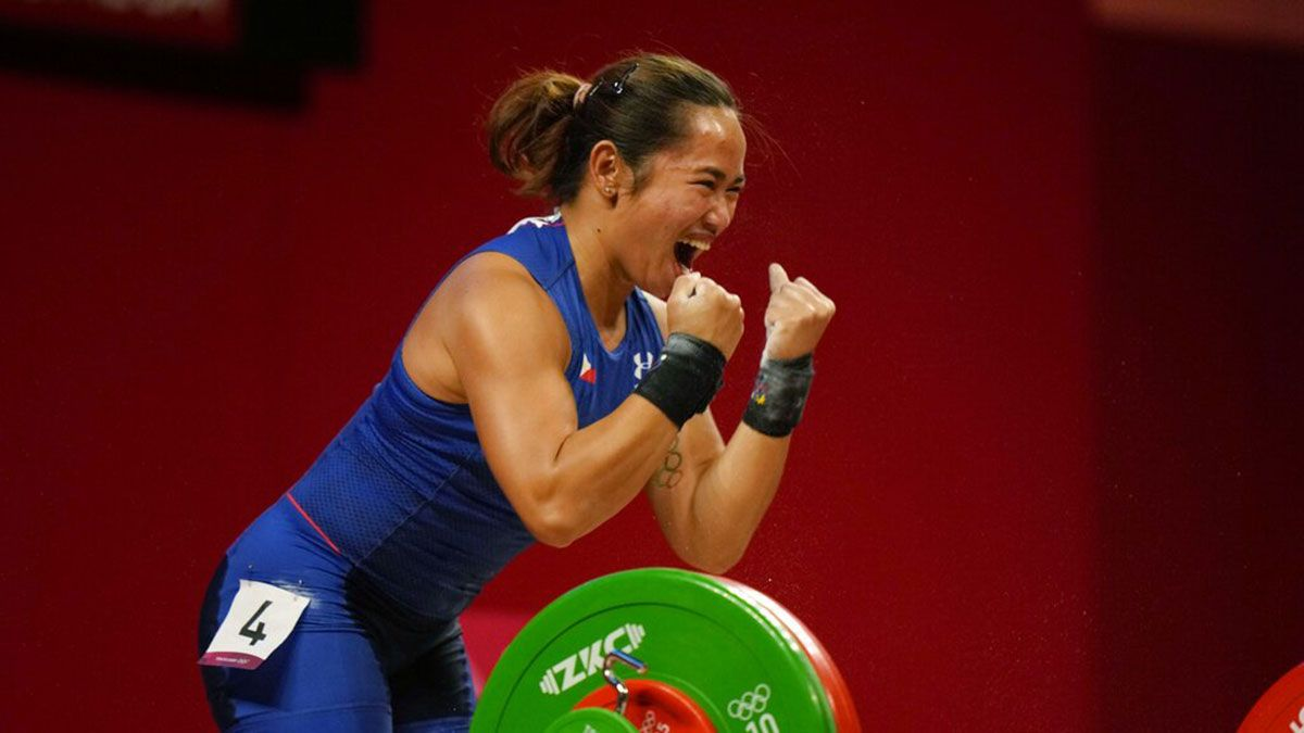 Hidilyn Diaz gives Philippines first-ever Olympic gold medal