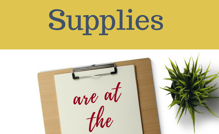 The Best 6 Homeschool Supplies at the Dollar Tree