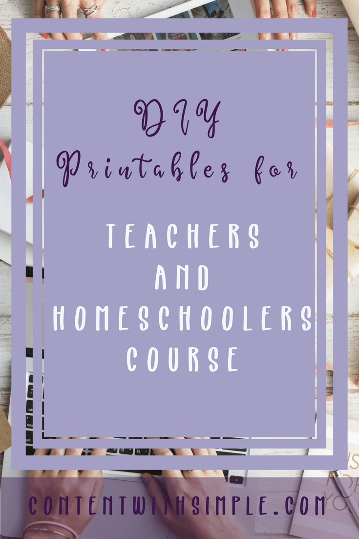 DIY Printables Course