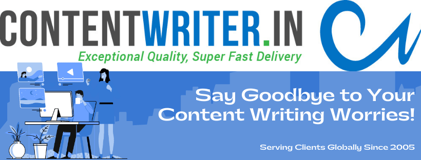 Say Goodbye to Your Content Writing Worries!