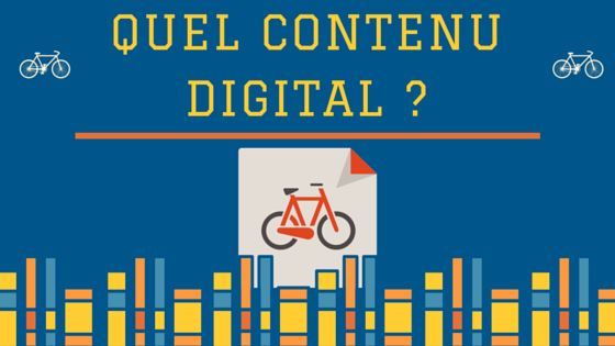 focus 4 Quel contenu digital