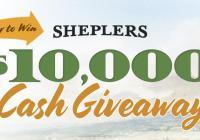 Sheplers $10000 Cash Giveaway - Chance to Win $10000 Cash