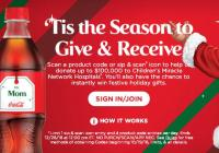 Coca-Cola 2018 Holiday Instant Win Sweepstakes – Win Festive Holiday Gifts