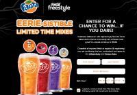 Coca-Cola Freestyle 2018 Fanta Halloween Instant Win Game – Win Promo Code