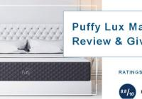 Puffy Lux Mattress Review & Giveaway