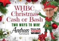 WHBC Christmas Cash Or Bash Giveaway