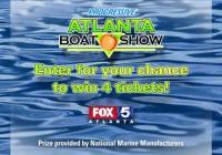 WAGA Atlanta Boat Show Giveaway