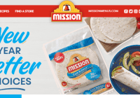 Mission Foods New Year Better Choices Sweepstakes - Enter To Win A Fitness Gear
