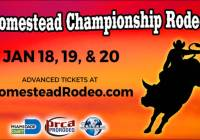 Homestead Championship Rodeo Ticket Giveaway - Chance To Win A Set Of Four Tickets to the Homestead Rodeo