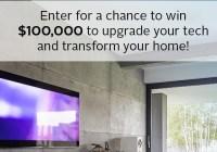 Popular Mechanics Modernize Your Home Sweepstakes - Enter To Win $100000 Check