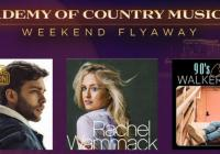 54th Academy of Country Music Awards Flyaway Sweepstakes