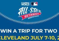 Camping World MLB All-Star Getaway Sweepstakes