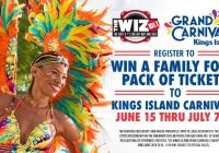 The Wiz Kings Island Register To Win Giveaway - Enter To Win Family Four Pack Of Tickets