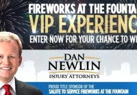 Click Orlando Fireworks At The Fountain VIP Experience Contest