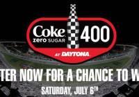 Coke Zero Sugar 400 Gatorade Victory Lane Contest - stand To Win Two Passes And Tickets