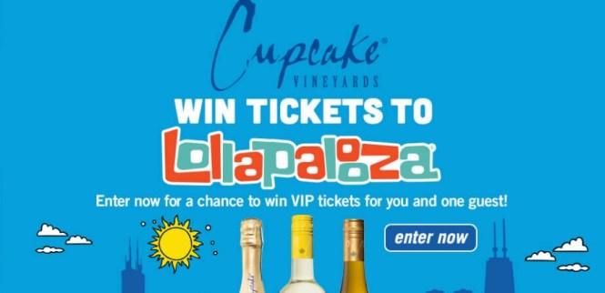 Cupcake Vineyards Lollapalooza National Sweepstakes