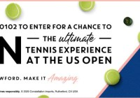 Us Open Tennis Championships Sweepstakes