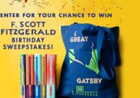 Scribner Fitzgerald Collection Sweepstakes Enter To