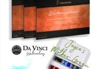 Doodlewash® Da Vinci Watercolors And Hahnemühle Paper Giveaway