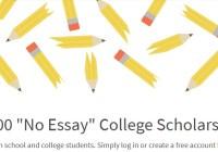 Niche.com $2,000 No Essay College Scholarship Giveaway