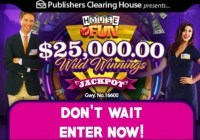 PCH $25000 House Of Fun Giveaway