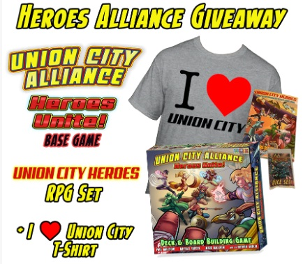 Union City Heroes Union City Alliance Giveaway