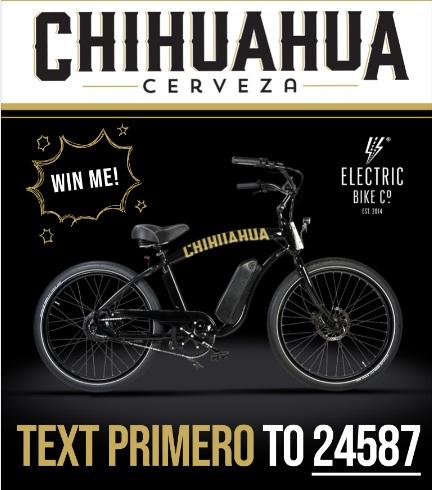 Chihuahua E-Bike Sweepstakes