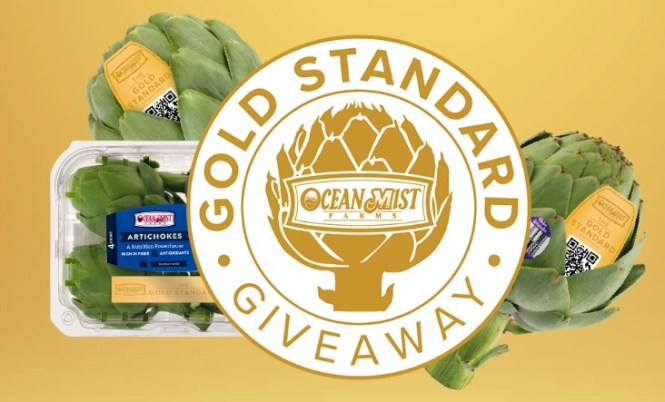 DMA Produce Solutions Ocean Mist Farms Visa Gift Card Giveaway
