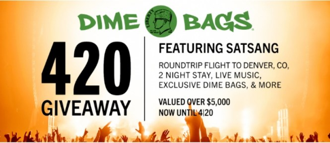 Dime Bags 420 Giveaway