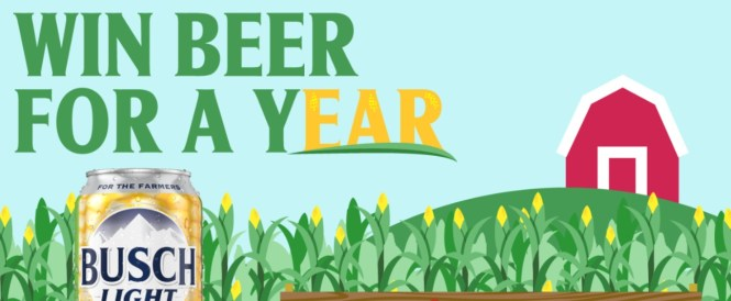 Anheuser-Busch Busch Beer For A Year Giveaway