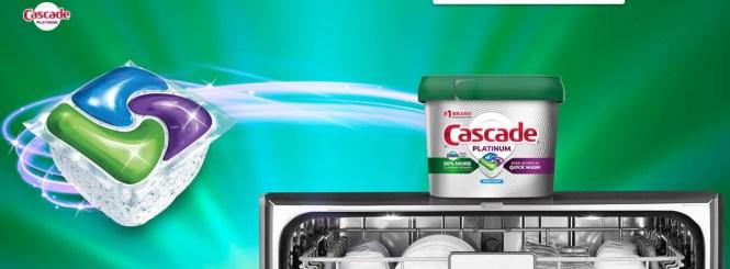 Cascade Platinum Dirty Dish Torture Test Contest