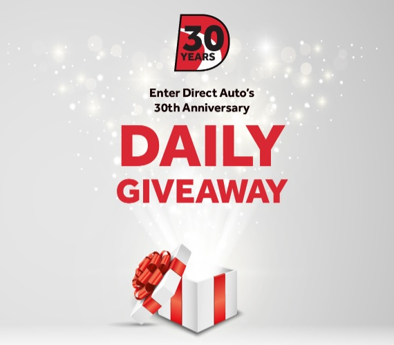 Direct Auto Insurance Visa Gift Card Giveaway