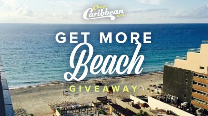 CheapCaribbean Get More Beach Giveaway