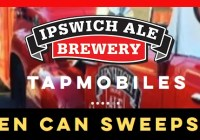 Ipswich Ale Brewery Golden Can Sweepstakes