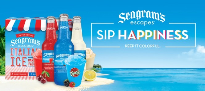 Real Seagram Escapes Italian Ice Sweepstakes